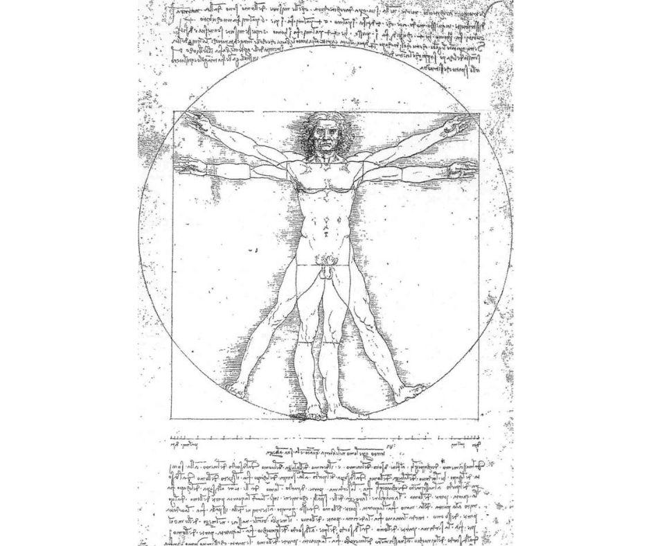 Deus Homine Vitruvian Man Vision
